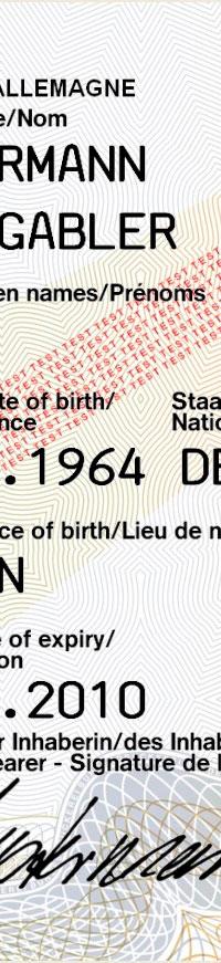 Identitätsüberprüfung DWKident